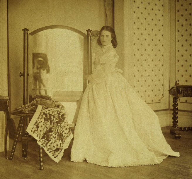 Lady Hawarden. 'Clementina Maude, 5 Princes Gardens; Photographic Study' c. 1862-1863 (detail)