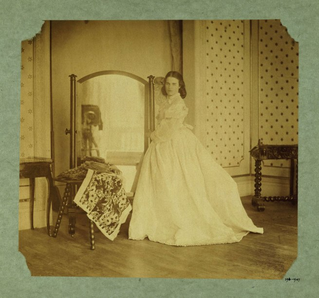 Lady Hawarden. 'Clementina Maude, 5 Princes Gardens; Photographic Study' c. 1862-1863