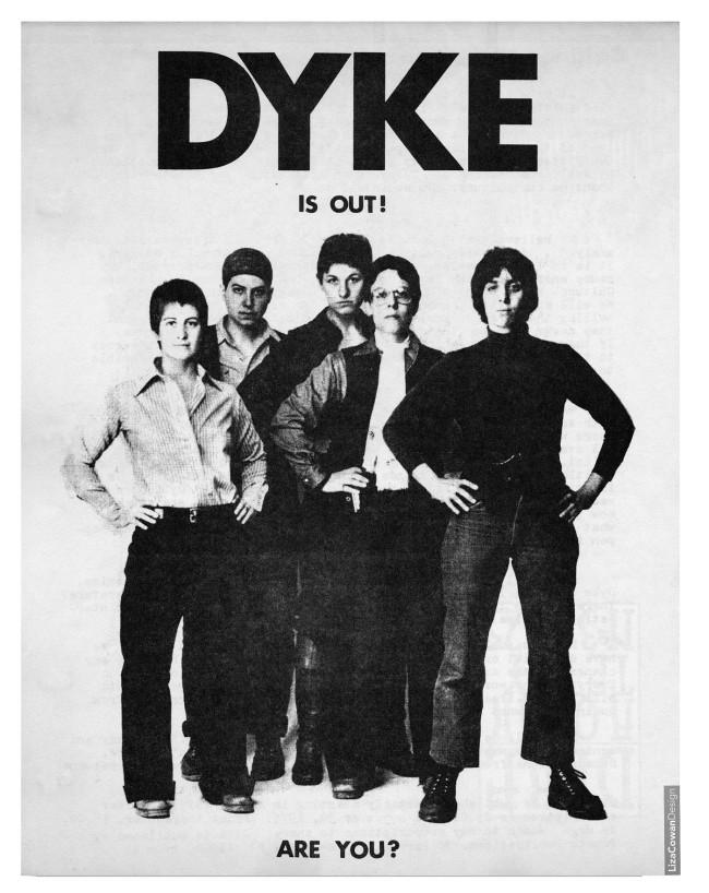Liza Cowan (designer) 'DYKE, A Quarterly' c. 1974