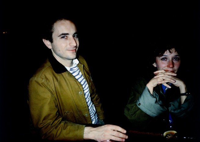 Nan Goldin (American, born 1953) 'David and Butch Crying at Tin Pan Alley, New York City' 1981