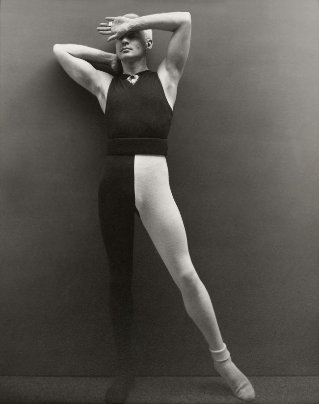 George Platt Lynes. 'Self-Portrait, in Tights' 1948