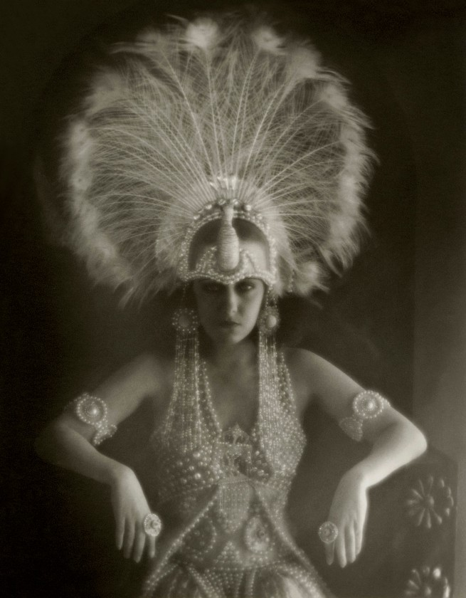 Karl Struss. Gloria Swanson in 'Male and Female' 1919