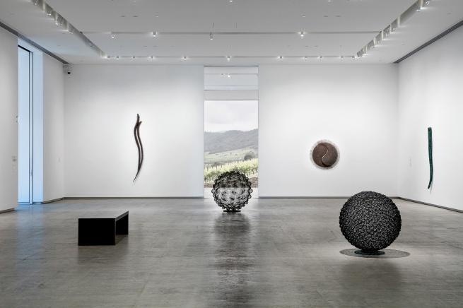 installation view, 'The Sculpture of Bronwyn Oliver', TarraWarra Museum of Art, 2016