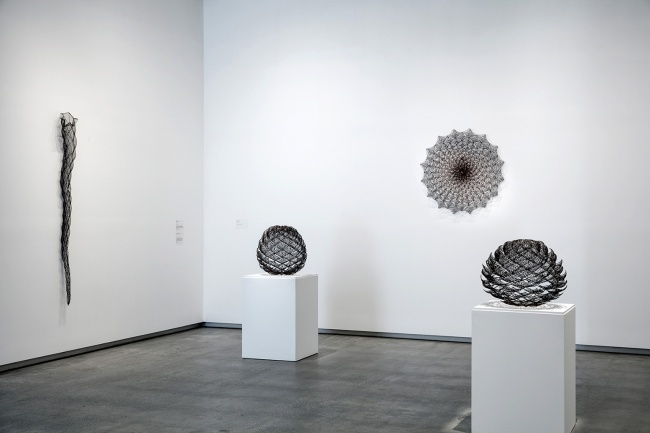 installation view, 'The Sculpture of Bronwyn Oliver', TarraWarra Museum of Art, 2016