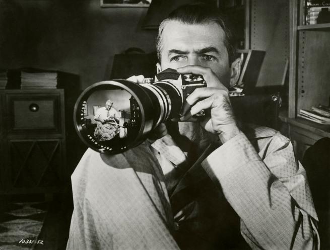 Anonymous. James Stewart in 'Rear Window' 1954