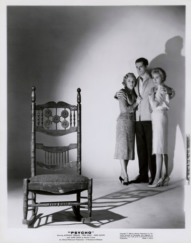 Bud Fraker (attributed to) Janet Leigh, Vera Miles and John Gavin in 'Psycho' 1960