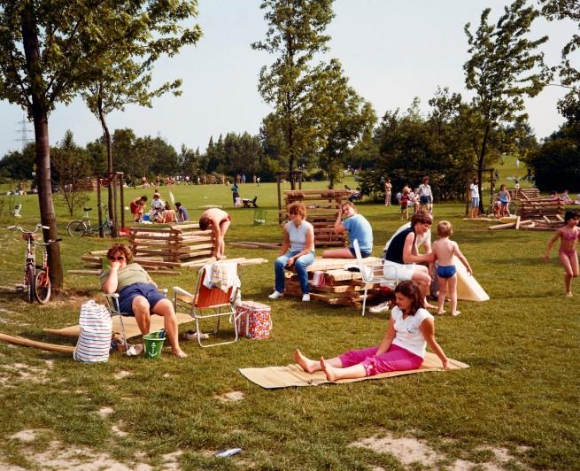 Joachim Brohm. 'Revierpark Nienhausen, Gelsenkirchen' (Parking area Nienhausen, Gelsenkirchen) 1982