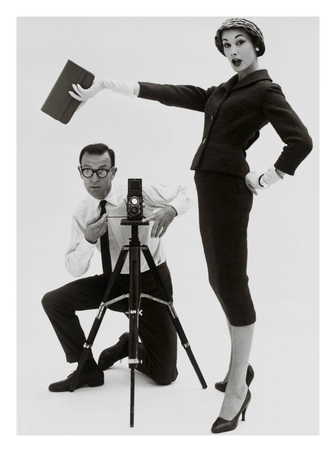 John French. 'John French and Daphne Abrams in a tailored suit' 1957