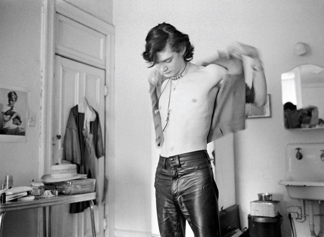 Judy Linn. 'Robert Gets Dressed at the Chelsea, #3' 1970