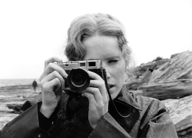 Anonymous. Liv Ullman in 'Persona' (detail) 1966