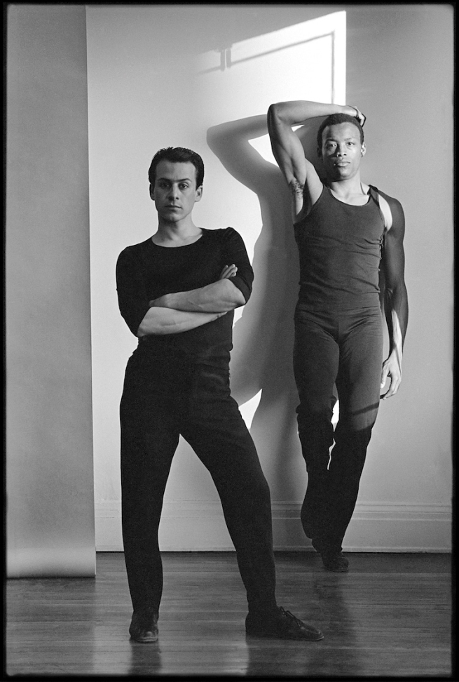 Lois Greenfield. 'Bill T. Jones and Arnie Zane' 1982