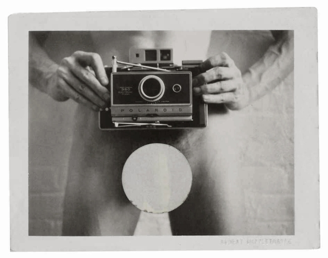 Robert Mapplethorpe. 'Light Gallery invitation' 1973