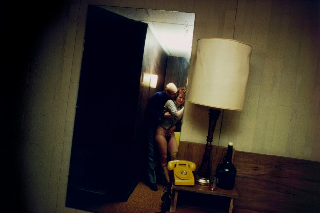 Nan Goldin (American, born 1953) 'Nan and Dickie in the York Motel, New Jersey' 1980