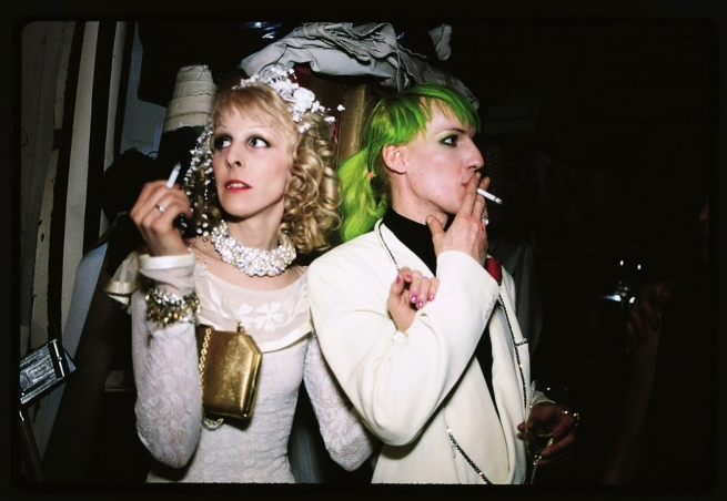 Nan Goldin. 'Greer Lankton and Paul Monroe wedding' 1987