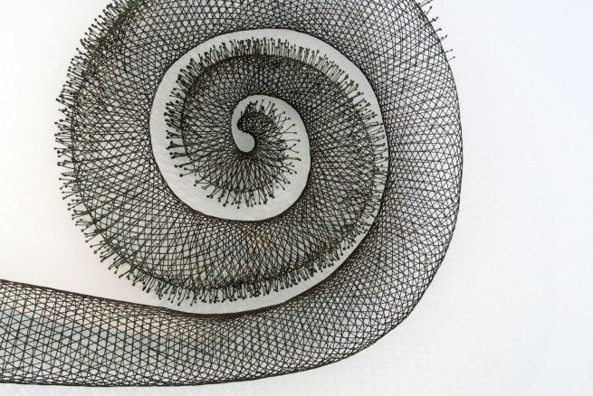 Bronwyn Oliver (1959-2006) 'Spiral IV' (detail) 2003