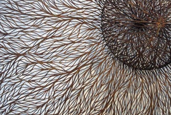 Bronwyn Oliver (1959-2006) 'Umbra' (detail) 2003