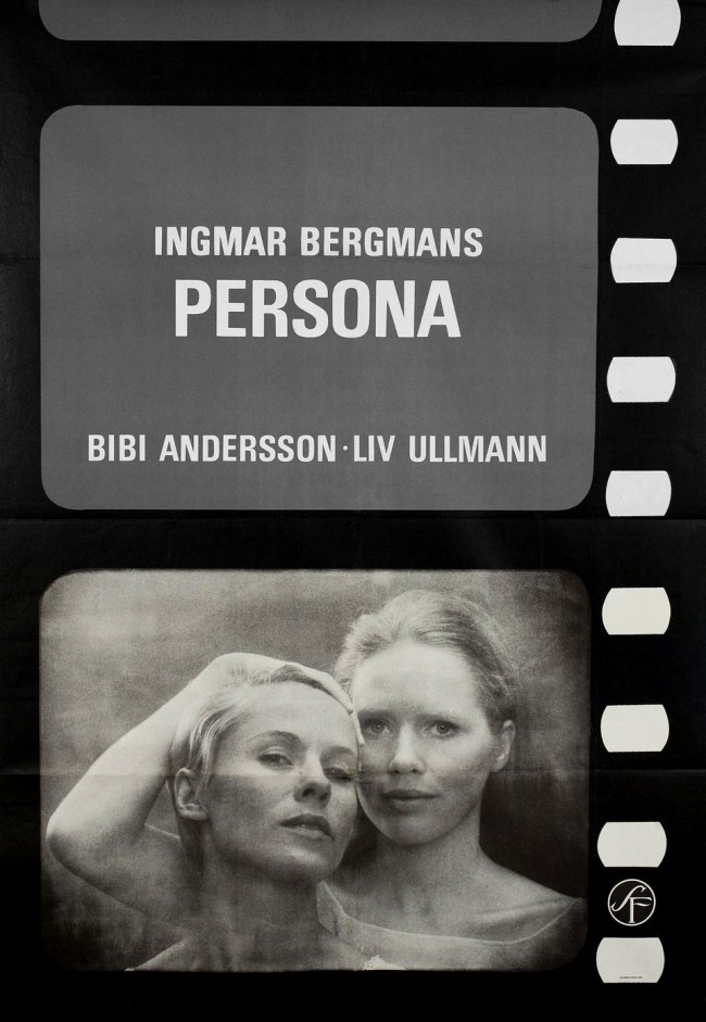 'Persona' 1966 Swedish B1 Poster