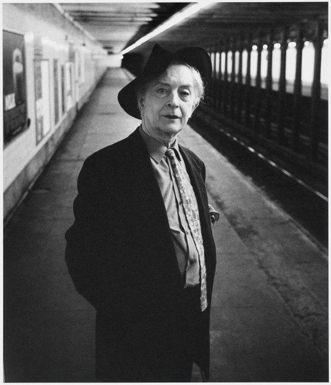 Peter Hujar. 'Quentin Crisp' 1982
