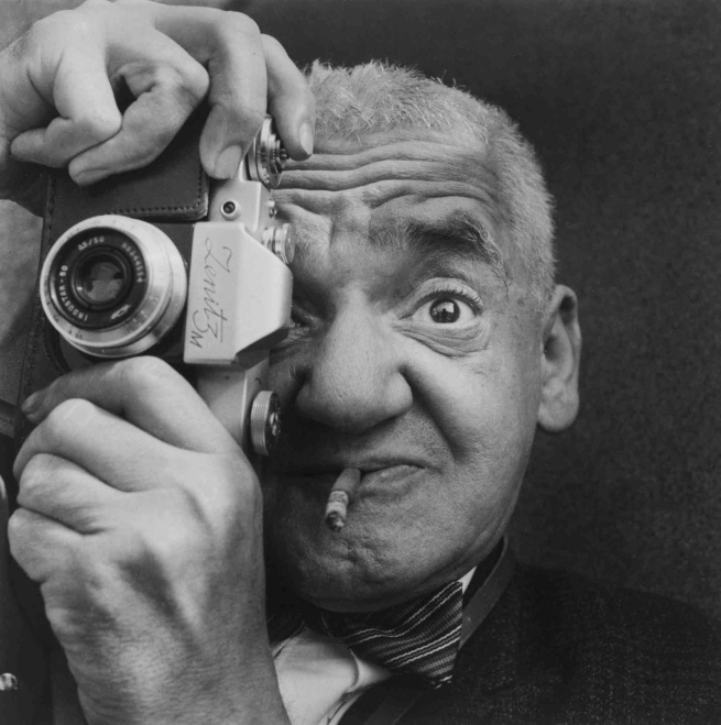 "Richard Sadler. ""Weegee the Famous"" 1963"