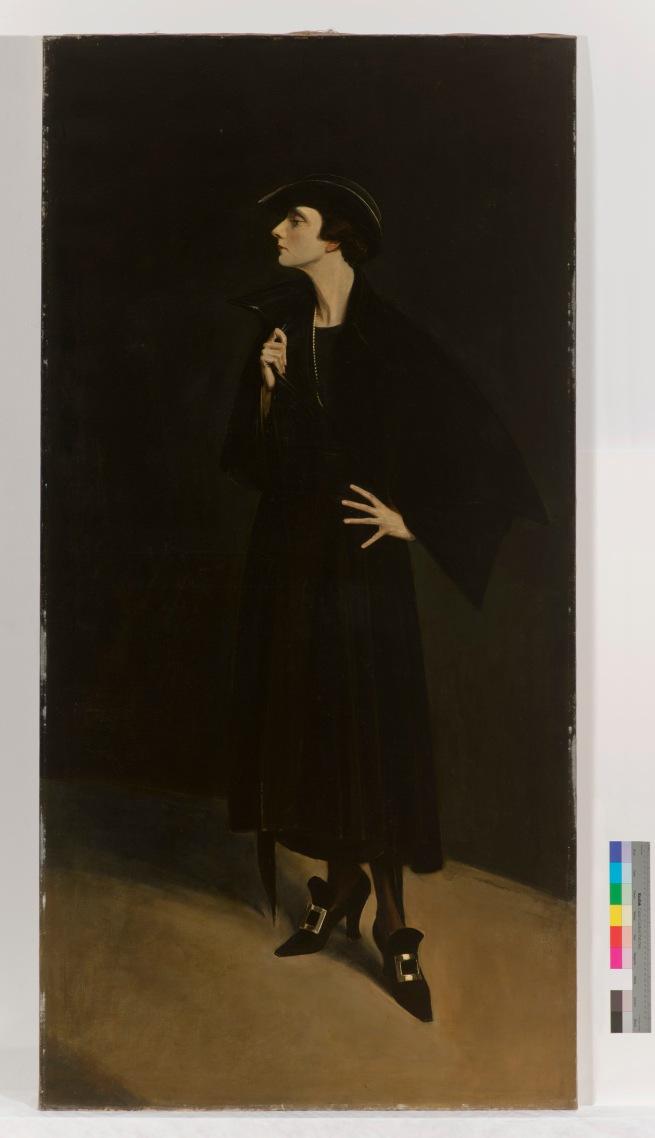 Abram Poole. 'Mercedes de Acosta' 1923