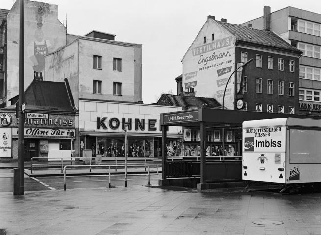Michael Schmidt. 'Müller-/Ecke Seestraße' 1976-1978