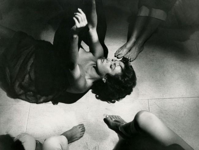 Pierluigi Praturlon. Anita Ekberg as Sylvia in 'La Dolce Vita' (The Sweet Life) 1959