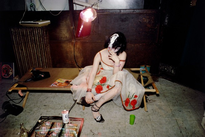 Nan Goldin (American, born 1953) 'Trixie on the Cot, New York City' 1979