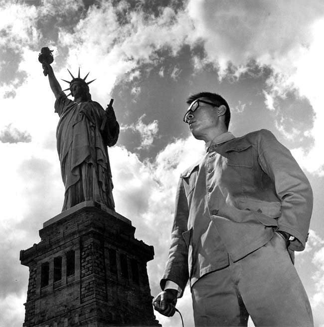 Tseng Kwong Chi. 'New York, NY (Statue of Liberty)' 1979