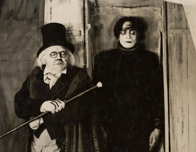 Anonymous. Werner Krauss, Conrad Veidt and Lil Dagover in 'The Cabinet of Dr. Caligari' 1919 (detail)