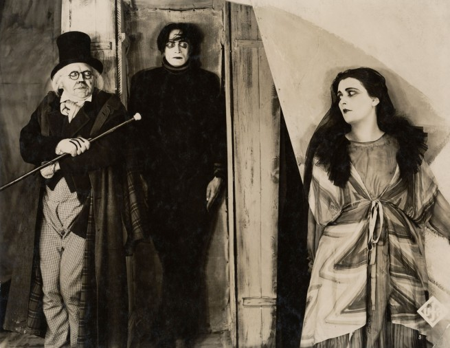 Anonymous. Werner Krauss, Conrad Veidt and Lil Dagover in 'The Cabinet of Dr. Caligari' 1919