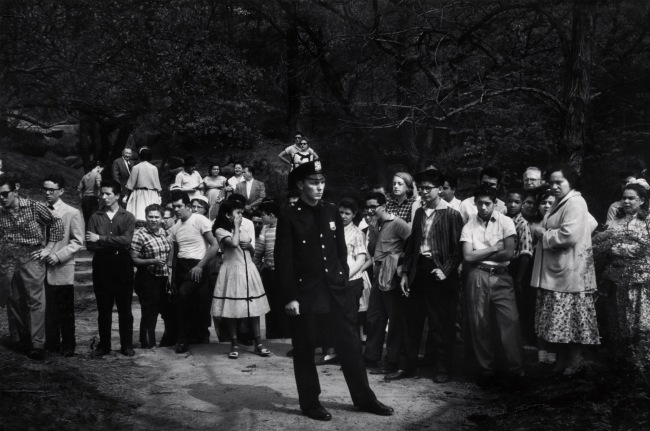 Dave Heath, (Canadian, born United States, 1931-2016) 'Central Park, New York City' 1957