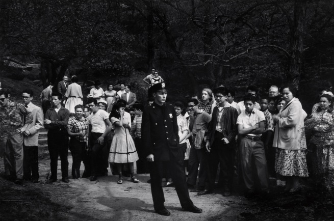 Dave Heath, (Canadian, born United States, 1931-2016) 'Central Park, New York City' 1957