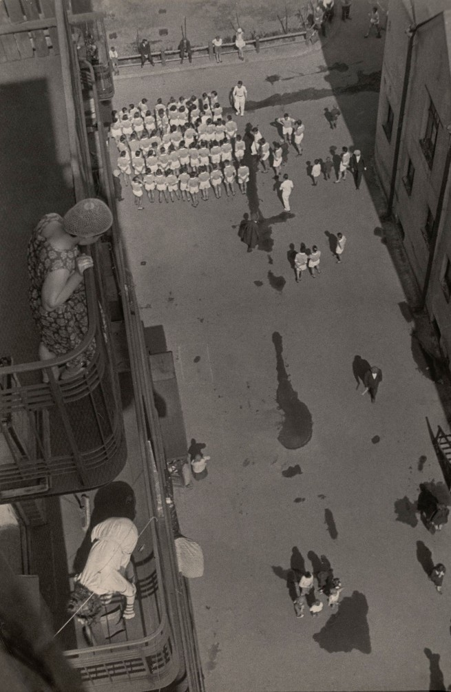 Aleksandr Rodchenko. 'Assembling for a Demonstration' 1928-30