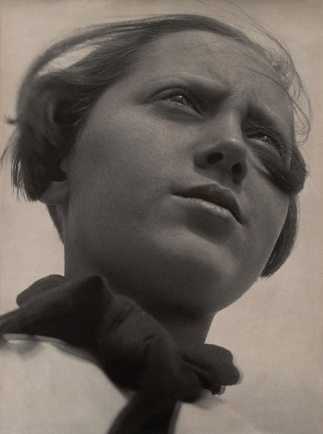 Aleksandr Rodchenko. 'Pioneer Girl' 1930