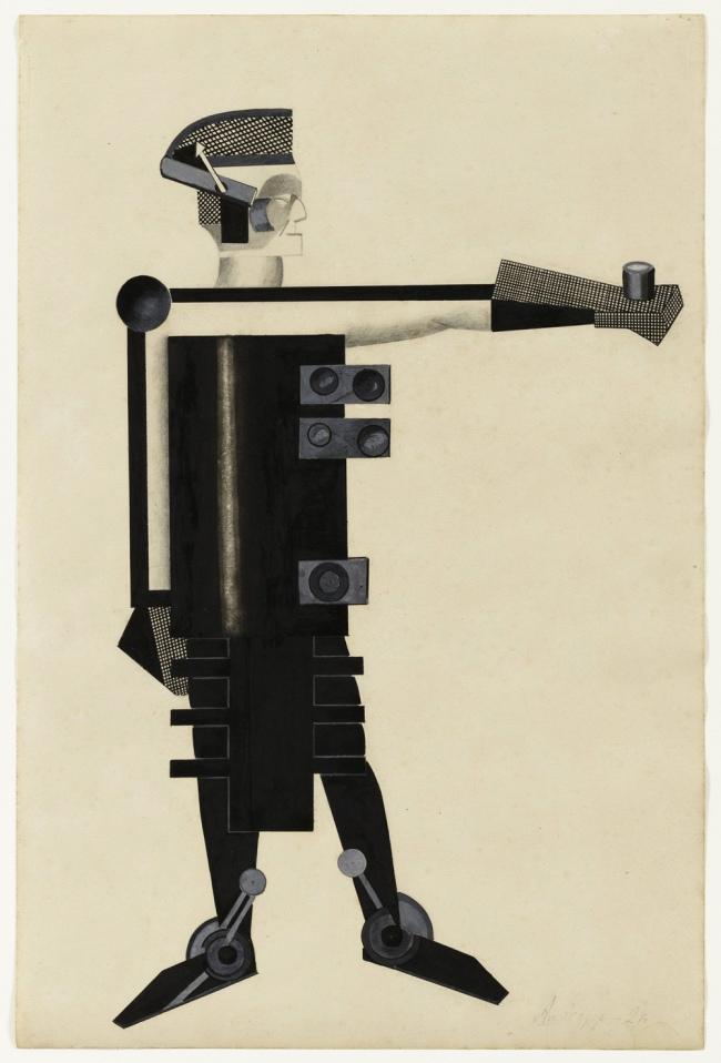 """Alexandra Exter """"Guardian of Energy"""" 1924"""