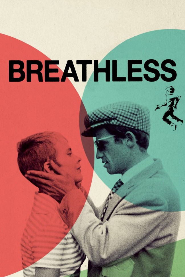 Breathless film poster 1960
