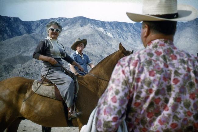 Robert Doisneau. 'Palm Springs' 1960