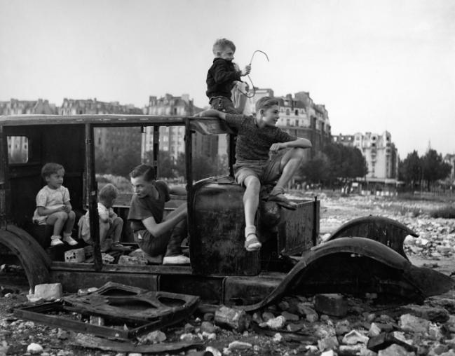 Robert Doisneau. 'The Melted Car' 1944