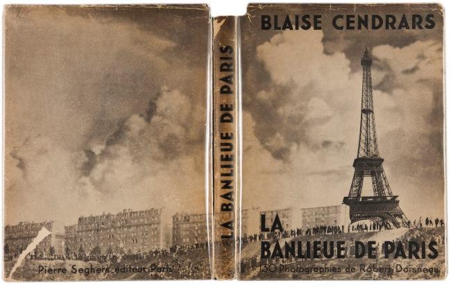 Dustjacket of Robert Doisneau's 'La Banlieue de Paris' (The Suburbs of Paris) 1949