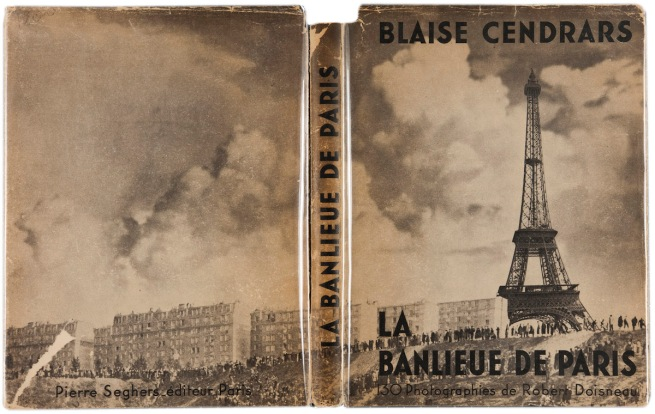 Dustjacket of Robert Doisneau's 'La Banlieue de Paris' (The Suburbs of Paris) 1949