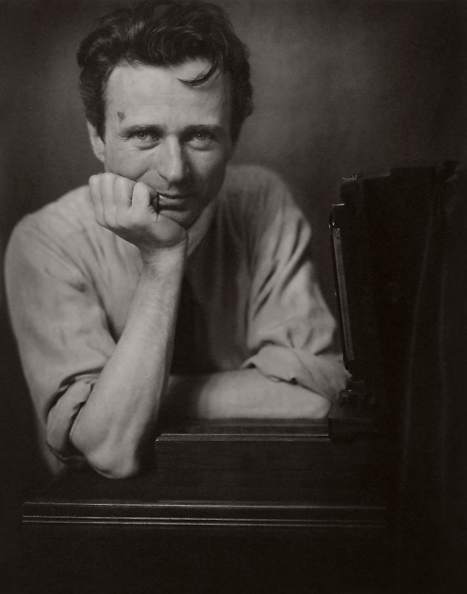 Edward Steichen (1879-1973) 'Self-Portrait with Studio Camera' c. 1917