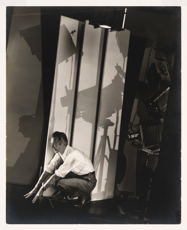 Edward Steichen (1879-1973) 'Self-Portrait with photographers paraphenalia' 1929