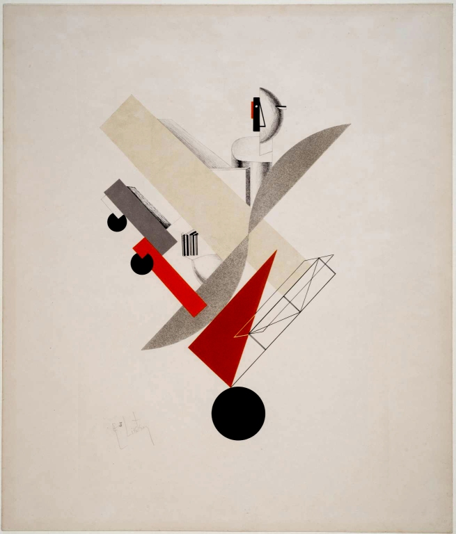 El Lissitzky (Russian, 1890-1941) 'The Globetrotter' 1923