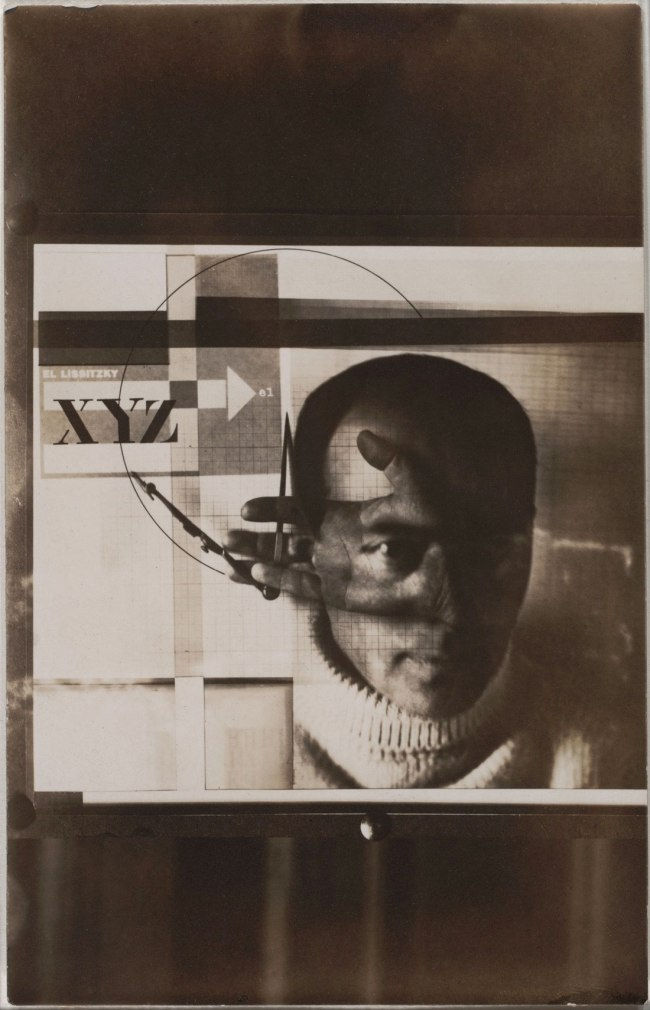 El Lissitzky (Russian, 1890-1941) 'Self-Portrait' 1924