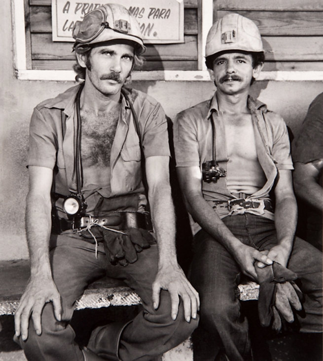 Milton Rogovin (1909-2011) 'Untitled' from the series 'Family of Miners: Cuba' 1989