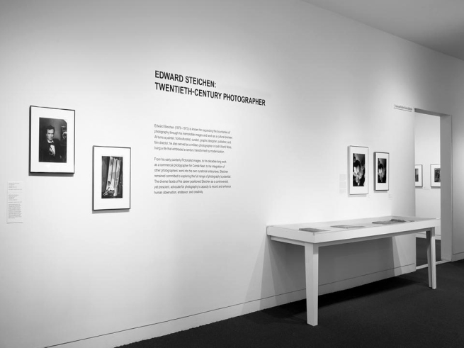 Installation view of 'Edward Steichen: Twentieth-Century Photographer' at the deCordova Sculpture Park and Museum
