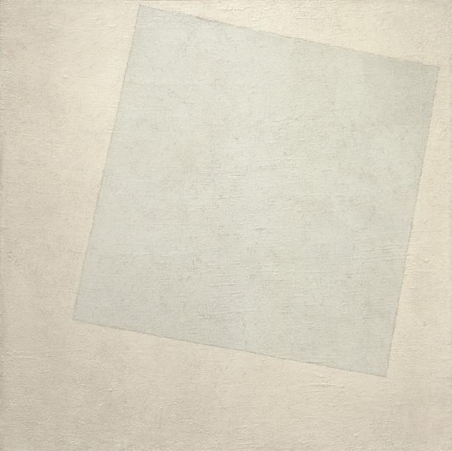 Kazimir Malevich. 'Suprematist Composition: White on White' 1918