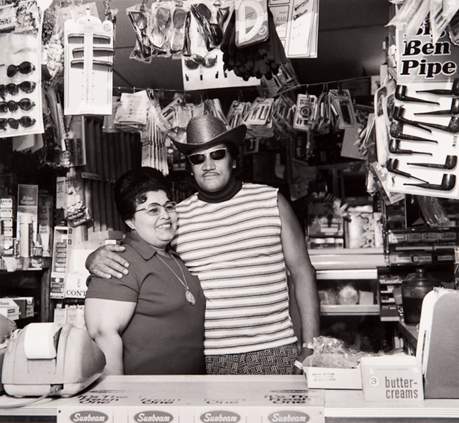 Milton Rogovin (1909-2011) 'Untitled' from the series 'Lower West Side, Buffalo, Felix & Wife' 1974