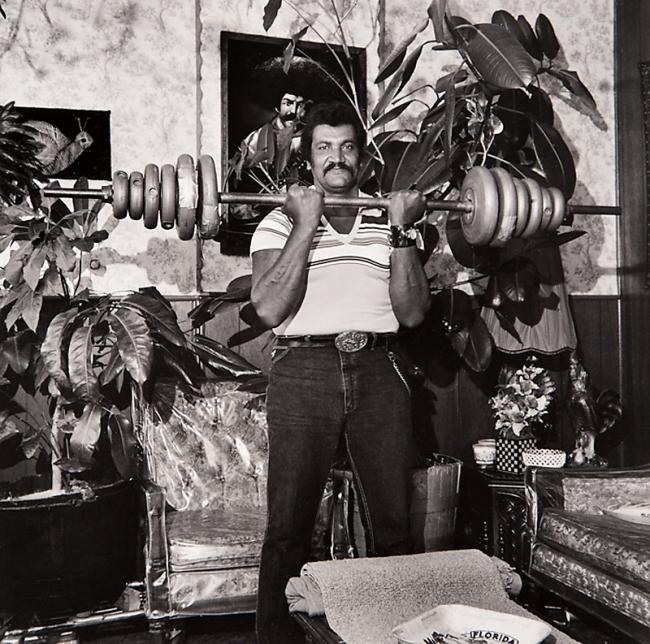 Milton Rogovin (1909-2011) 'Untitled' from the series 'Lower West Side, Buffalo, Felix & Wife' 1985