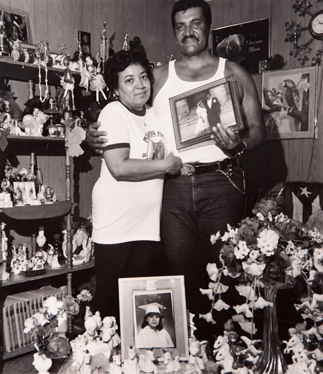 Milton Rogovin (1909-2011) 'Untitled' from the series 'Lower West Side, Buffalo, Felix & Wife' 1992